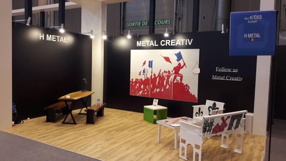 Standul Metal Creativ la Maison@Object Paris