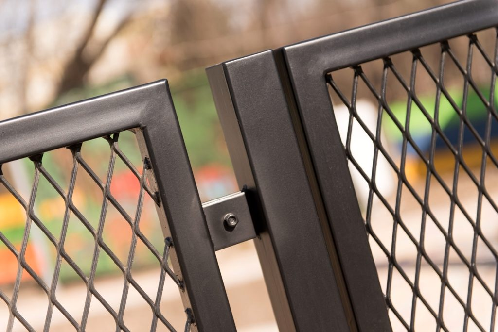panou gard din tabla expandata